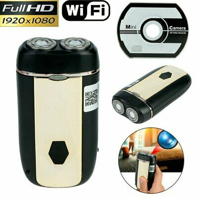 View Details Full 1080P HD Spy Hidden WIFI Camera Electric Shaver Mini DVR Video Recorder Cam • 31.24£