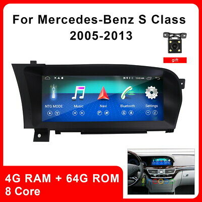 $756.84 • Buy 10.25  Android Radio GPS Car Stereo For Benz S-Class W220 W215 S550 S600 S63 AMG