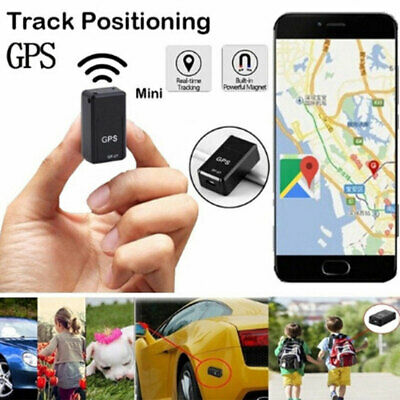 Magnetic Tracking Real Time Locator Mini GPRS GPS Tracker GSM Device Car Spy • 7.99£