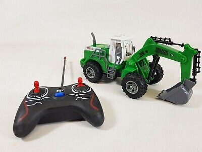 Remote Control Digger RC Kids Xmas Toy Excavator Truck Controlled Construction • 334.99£