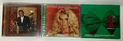 $ CDN21.50 • Buy Lot Of 3 New Sealed Christmas CDs Johnny Mathis/Jessica Simpson&Various Artists