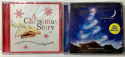 $ CDN19.50 • Buy Lot Of 2 New Sealed Christmas CDs A Christmas Story-Bing & Mannheim Steamroller