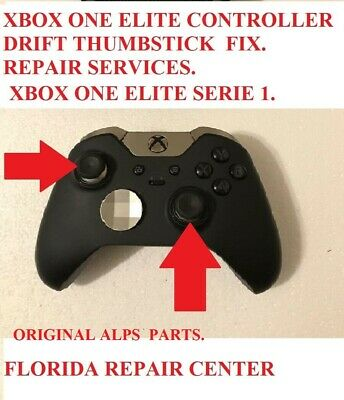$35.99 • Buy Xbox One ELITE Serie 1 Controller Repair Service Broken Drifting ThumbStick.