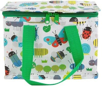 Creepy Crawlies Thermal Soft Lunchbox Ladybird Bumble Bee Butterfly Children's • 2.50£