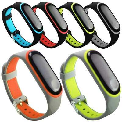 Replacement Sport Silicone Band Strap For Xiaomi Mi Band 4 2019/3 Smart Watch US • 6.69$