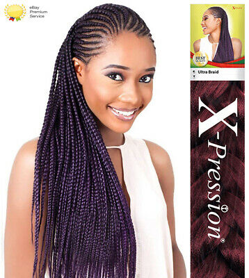 X-Pression Xpression Ultra Braids Kanekalon Braiding Hair Extensions Original • 4.95£