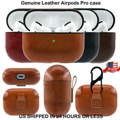 $ CDN8.75 • Buy AirPods Pro Case Protective Leather Holder  For Apple Earphone Accessories