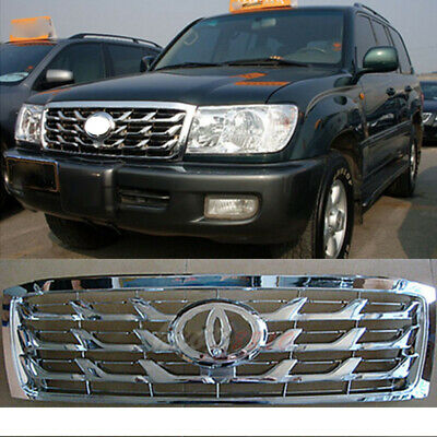 $159.99 • Buy For Land Cruiser 4500 4700 FJ100 LC100 06-07 ABS + Chrome Edge Front Hood Grille