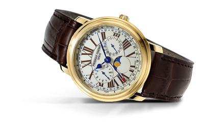 Frederique Constant Automatic Moonphase Watch - FC-270EM4P5 • 945$