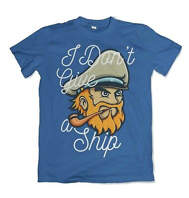 Captain Mens T Shirt Skipper Sailing Ship Sailer Anchor S-3XL  • 11.99£
