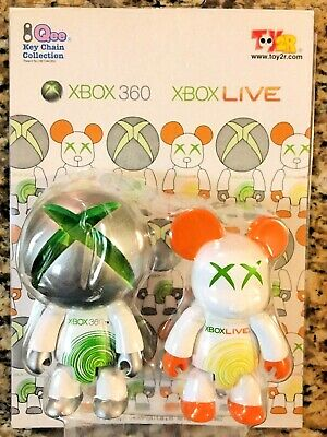 $27.99 • Buy Toy2r Qee Key Chain Collection Xbox 360 & Xbox Live Bear Brick 2006 Mircrosoft