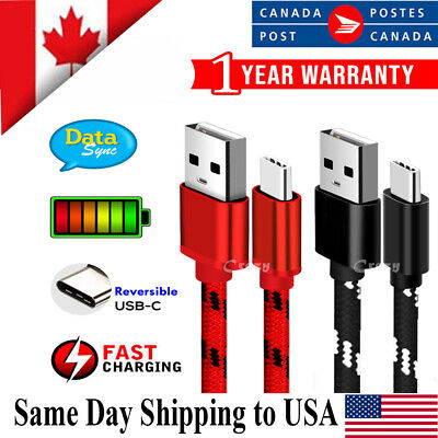 $ CDN5.99 • Buy USB Type C Fast Charging Charger Cable For Samsung Huawei Oppo Nokia Google LG