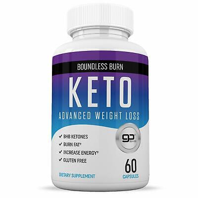 Boundless Burn KETO - Advance Weight Loss 800mg With BHB 60 Capsules • 14.95$