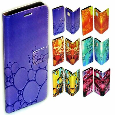 AU14.98 • Buy For Sony Xperia Series Water Bubble Print Pattern Wallet Mobile Phone Case Cover