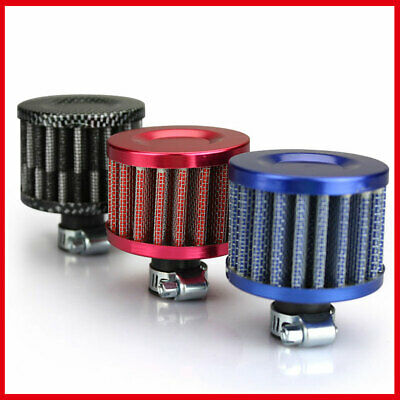 Air Filter Turbo Crankcase Small Head Cold Car Vent Intake Mushroom Oil Breather • 3.99£