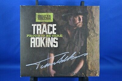 £43 • Buy TRACE ADKINS Proud To Be Here Deluxe Digipak CD 2011  SIGNED AUTOGRAPHED