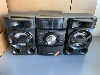 Sony MHC-EC69i Mini Hi-Fi Component Stereo System CD Player W/ IPod Dock TESTED • 79.99$