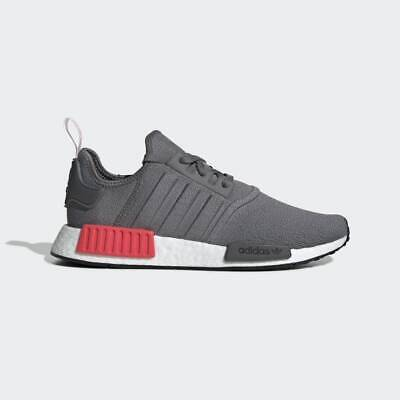 $ CDN101.99 • Buy NEW $170 Adidas NMD_R1 SHOES GREY FOUR / SHOCK RED BD7730