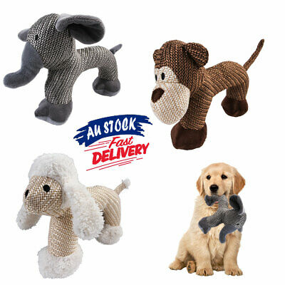 AU12.93 • Buy Aggressive For Toy Sound Squeaker Chew Toys Indestructible Squeaky Dogs AU