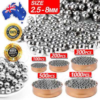 AU8.95 • Buy Steel Loose Bearing Ball Replacement Parts 2.5-8mm Bike Bicycle Cycling Stainles