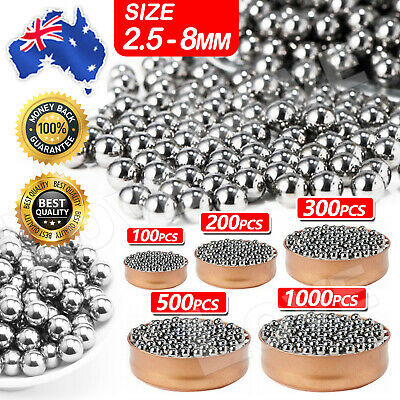 AU4.45 • Buy Steel Loose Bearing Ball Replacement Parts 2.5-8mm Bike Bicycle Cycling Stainles