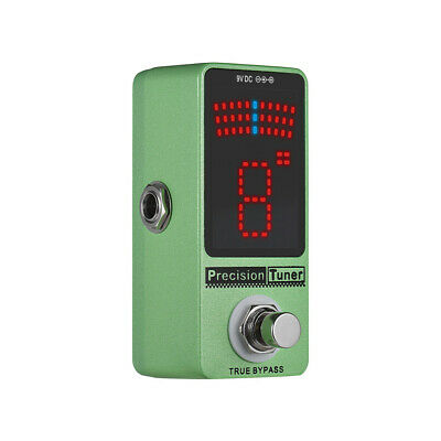 $ CDN33.73 • Buy Precision Tuner Pedal LED Display With True Bypass For Chromatic Guitar R0K4