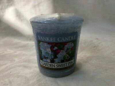 Garden Sweet Pea 1.75 Oz Votive Candle Yankee Candle New • 3.30£