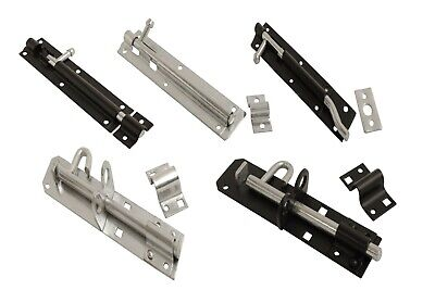Shed Door Gate Tower Brenton Pad Bolt 75mm 100mm 150mm 200mm B • 6.25£