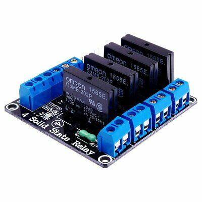 AU17.95 • Buy 5V 4 Channel 240V SSR High Level Solid State Relay