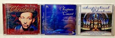 $ CDN24.50 • Buy Lot Of 3 Christmas CDs New Inspirational/All Star Christmas/Manhattan Orchestra