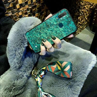 AU13.49 • Buy  VIVO Y17/Y12 Y30/50 Case Cover Bling Bling Shell Soft Green Purple