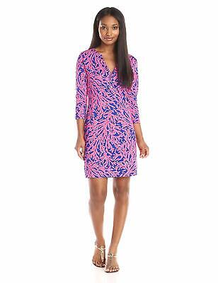Lilly Pulitzer Alessia T-Shirt Dress Tropical Pink Did You Catch That Size Small • 39.99$