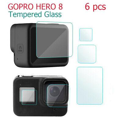 $ CDN2.78 • Buy 3/6Pcs For Gopro Hero 8 Camera Accessories Lens Screen Protector Protective Film