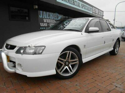 AU10995 • Buy 2003 Holden Commodore VY II SS White Manual 6sp M Utility