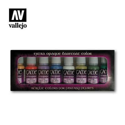 Vallejo Game Color Extra Opaque 8 Bottle Paint Set VAL72294 • 15.99£