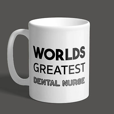 Worlds Greatest Dental Nurse Mug / Job  / Gift / Funny / Present • 8.95£