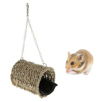 £6.34 • Buy Guinea Pig Hideout House Huts Hammock Chinchilla Accessories Toy Hanging Bed