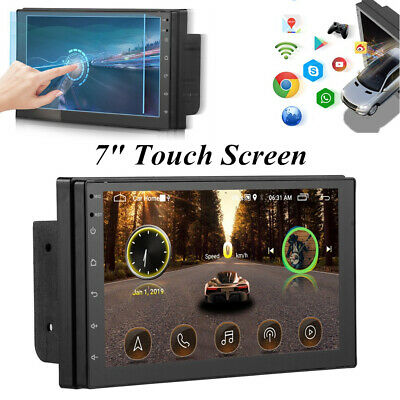 $112.39 • Buy 7'' Touch Screen GPS Navigator Radio Stereo FM Car MP5 Player For IOS / Android