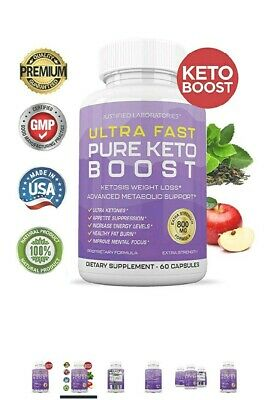 Ultra Fast Keto Boost Advanced Weight Loss With Metabolic Ketosis Support 800 MG • 24.75$