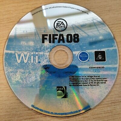 £1.75 • Buy WII DISC ONLY - FIFA 08 (Nintendo Wii, 2007)