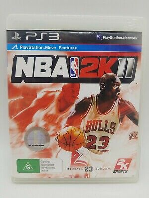 AU7.49 • Buy NBA 2K11 (G) PS3 Game Michael Jordan Pal Free Postage PlayStation 3