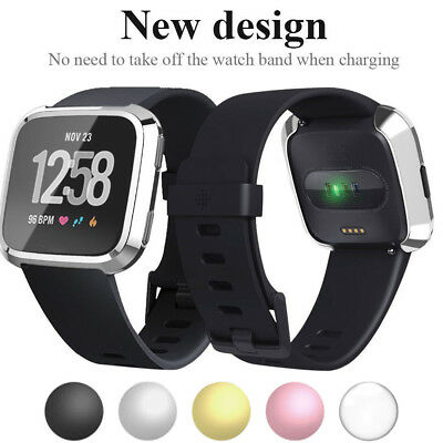 $ CDN4.74 • Buy For Fitbit Versa Screen Protector Case Full Protective TPU Bumper 3D Cover
