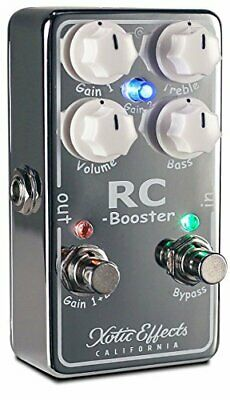 Xotic RC Booster V2 Effects Pedal • 218.02£