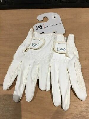 £10 • Buy Woof Wear Competition Riding Gloves White