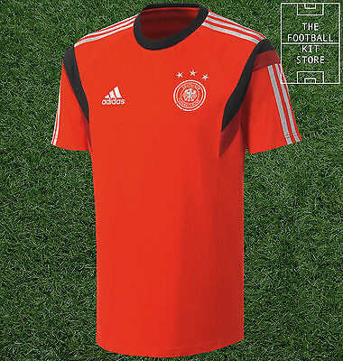 Germany Training Shirt - Official Adidas Train Tee / Top - Mens - All Sizes • 12.99£