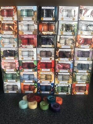 Yankee Candle  ASSORTMENT OF 10 TEA LIGHTS Fragrances JOB LOT • 4.50£