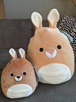 $ CDN35 • Buy Squishmallow 12 AND 8 Inch Lot * Kangaroo! * Squishmallows Kellytoy 2020 BNWT