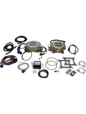 AU3617.20 • Buy Holley Fuel Injection Kit Sniper EFI 4150 2x4 Throttle Body Square Bo… (550-529)