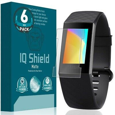 $ CDN10.47 • Buy 6x IQ Shield Matte Screen Protector For Fitbit Charge 3 [V2](Fitbit Charge 4)