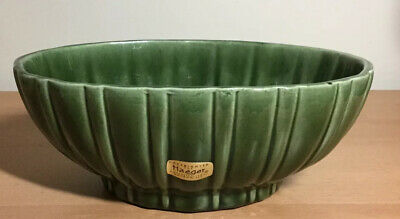 $9 • Buy Haeger Pottery Green Planter #4020B-Made In The USA